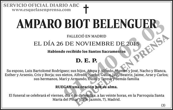 Amparo Biot Belenguer